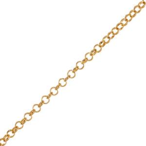 68ffd40a1d16 Cadenas Chapa de Oro para Hombre y Mujer